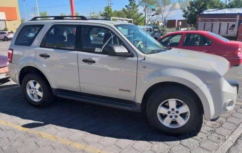Se vende urgemente Ford Escape 2008 Automático en Coacalco de Berriozábal