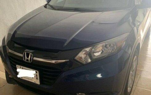 Carro Honda HR-V 2016 de único propietario en buen estado