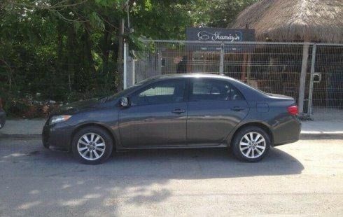Un Toyota Corolla 2009 impecable te está esperando