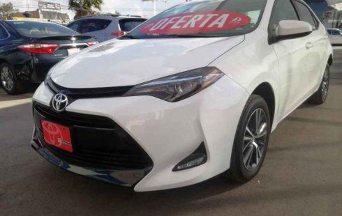Se pone en venta un Toyota Corolla
