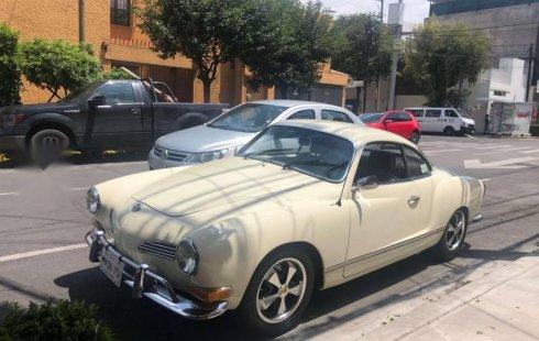 Quiero vender urgentemente mi auto Volkswagen Karmann Ghia 1971 muy bien estado