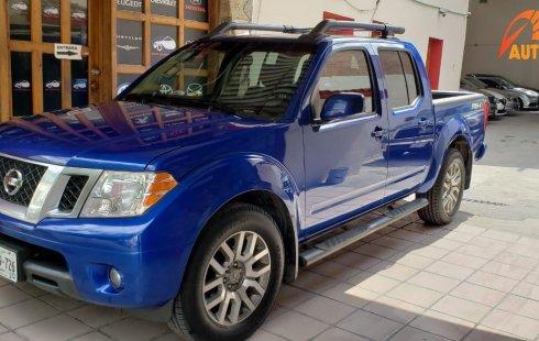 Venta auto Nissan pick up Frontier Pro 4x2 aut  2014 , Nuevo León
