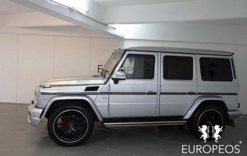 En venta un Mercedes-Benz Clase G 2011 Manual en excelente condición