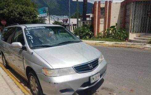 Se vende urgemente Honda Odyssey 2002 Automático en Monterrey
