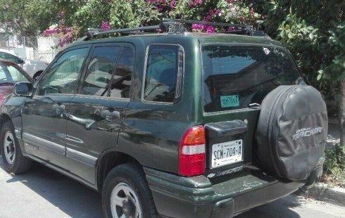 Urge!! Un excelente Chevrolet Tracker 2001 Automático vendido a un precio increíblemente barato en Nuevo León