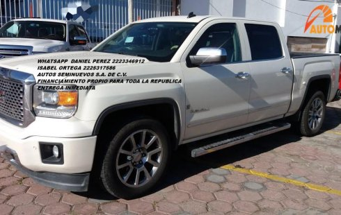Equipada GMC Sierra 4X4 2014 Puebla