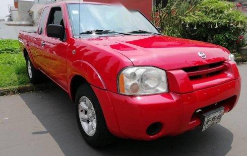 Un carro Nissan Frontier 2005 en Coyoacán