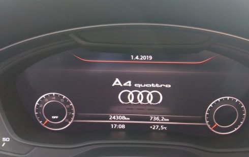 Urge!! En venta carro Audi A4 2017 de único propietario en excelente estado