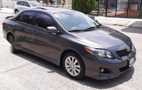 Tengo que vender mi querido Toyota Corolla 2009 en muy buena condición