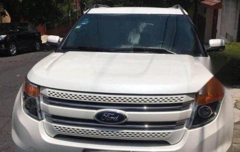 Urge!! En venta carro Ford Explorer 2013 de único propietario en excelente estado