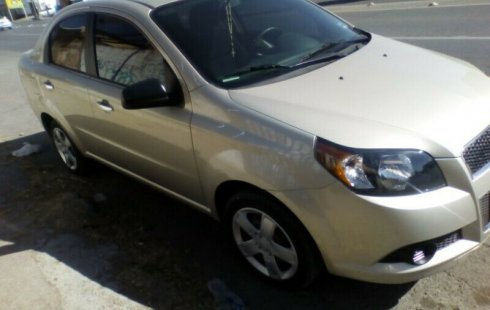 Chevrolet Aveo 2013 impecable