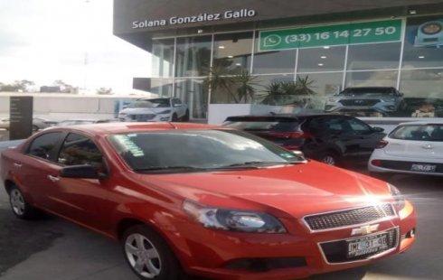 Chevrolet Aveo 2016 en Guadalajara