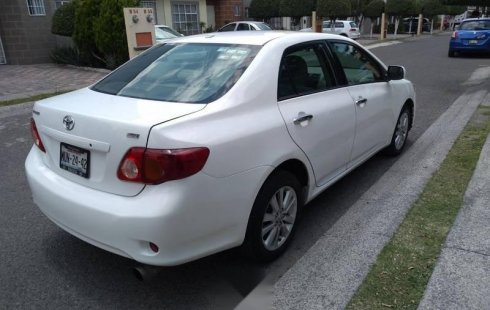 Quiero vender urgentemente mi auto Toyota Corolla 2009 muy bien estado