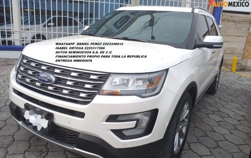 Equipada Explorer Limited 2016 Puebla