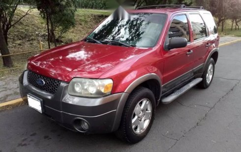 Ford Escape impecable en Gustavo A. Madero