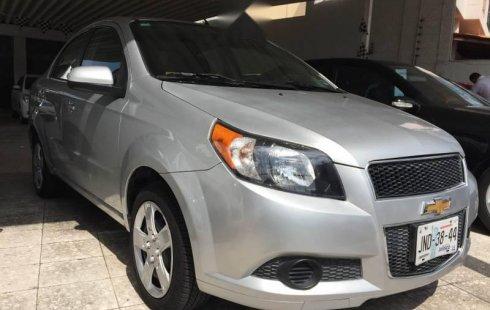 En venta un Chevrolet Aveo 2017 Manual en excelente condición