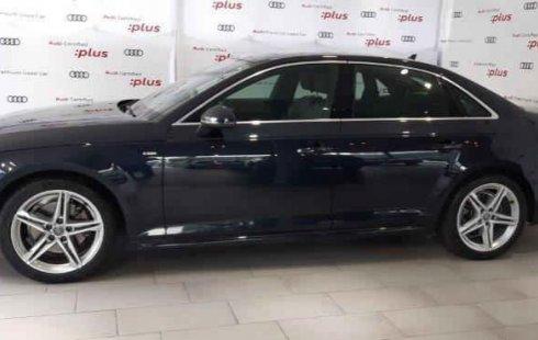 No te pierdas un excelente Audi A4 2018 Automático en Huixquilucan