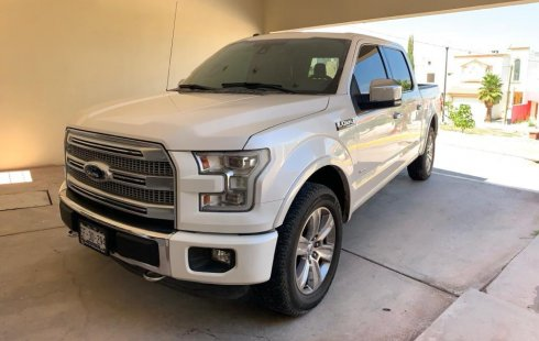 Ford Platinum 2016 unico dueño 4x4 piel