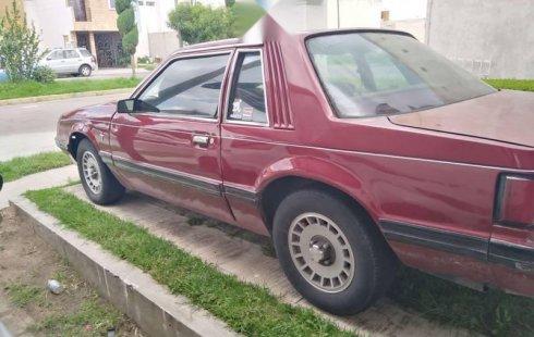 Quiero vender inmediatamente mi auto Ford Mustang 1980 muy bien cuidado