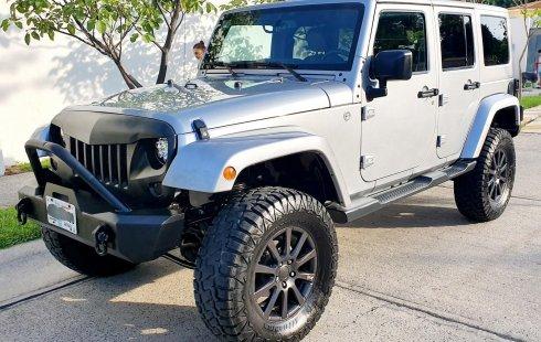 Jeep Unlimited Sahara 2015 Como Nuevo 4x4 Equipo Extra