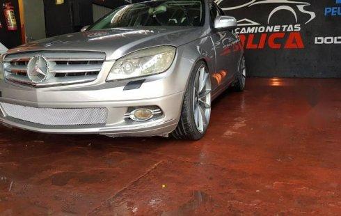 No te pierdas un excelente Mercedes-Benz Clase C 2009 Automático en Guadalajara