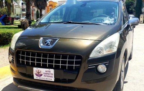 No te pierdas un excelente Peugeot 3008 2011 Automático en San Luis Potosí