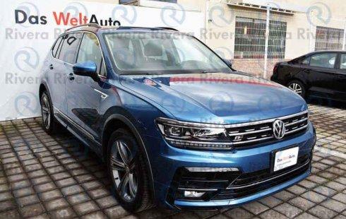 Un carro Volkswagen Tiguan 2019 en Puebla