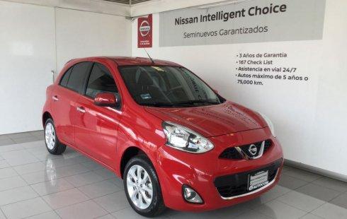 Se vende urgemente Nissan March 2017 Automático en Morelia