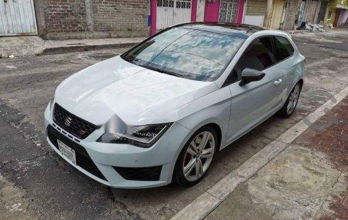 Seat León Cupra impecable en Tlalpan más barato imposible