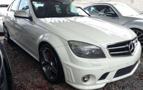 En venta un Mercedes-Benz Clase C 2009 Automático en excelente condición