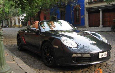 Porsche 718 Boxster 2008 Negro