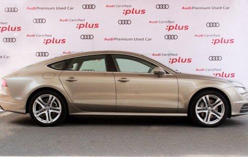 Un carro Audi A7 2018 en Metepec