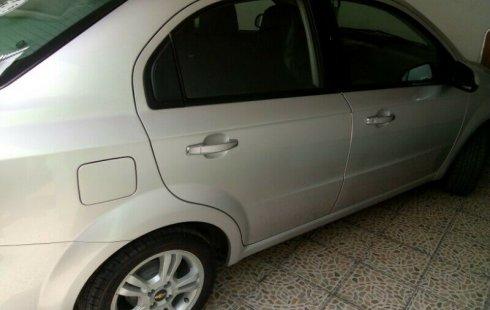 Chevrolet Aveo impecable en Nuevo León más barato imposible