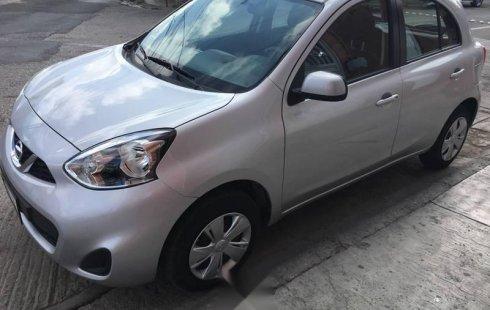 No te pierdas un excelente Nissan March 2018 Manual en San Luis Potosí
