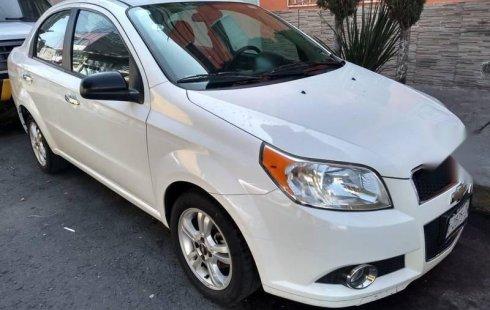 Chevrolet Aveo 2014 usado en Nezahualcóyotl