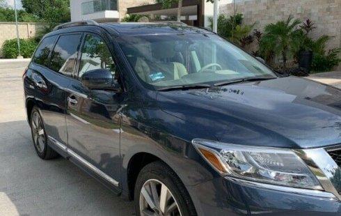 En venta un Nissan Pathfinder 2014 Automático muy bien cuidado