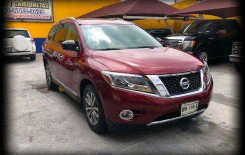 Un excelente Nissan Pathfinder 2014 está en la venta