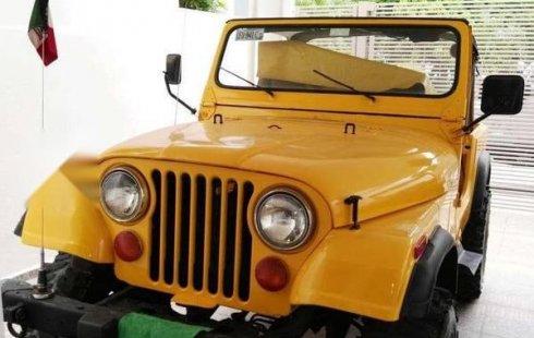 Se pone en venta un Jeep CJ