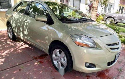 Un excelente Toyota Yaris 2007 está en la venta