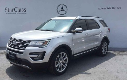 Vendo un Ford Explorer impecable