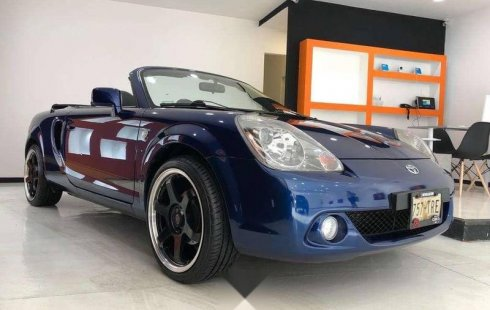 Quiero vender inmediatamente mi auto Toyota MR2 2006 muy bien cuidado