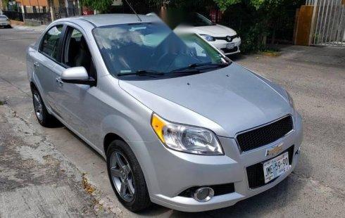 Chevrolet Aveo impecable en Guadalajara
