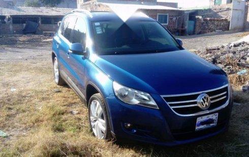 Carro Volkswagen Tiguan 2010 en buen estadode único propietario en excelente estado
