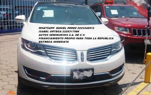 Equipada Lincoln MKX 2018 Puebla