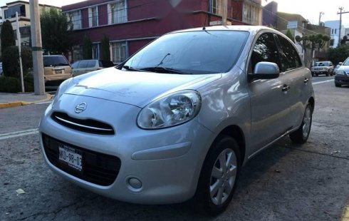 Se vende urgemente Nissan March 2012 Manual en Gustavo A. Madero