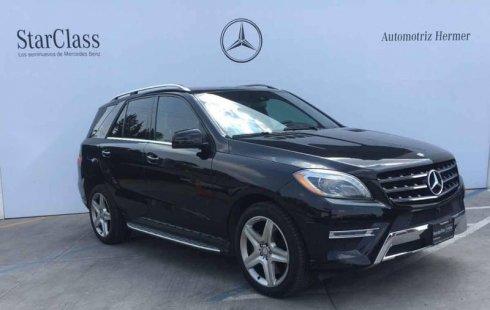Quiero vender inmediatamente mi auto Mercedes-Benz Clase M 2015 muy bien cuidado