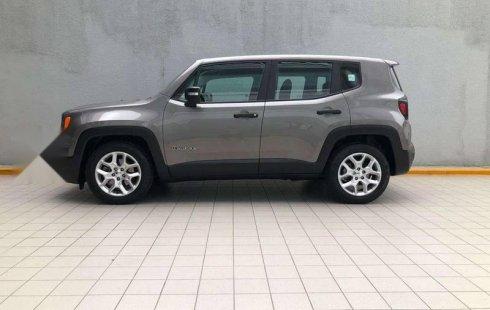 Quiero vender inmediatamente mi auto Jeep Renegade 2017
