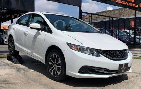 Carro Honda Civic 2015 en buen estadode único propietario en excelente estado