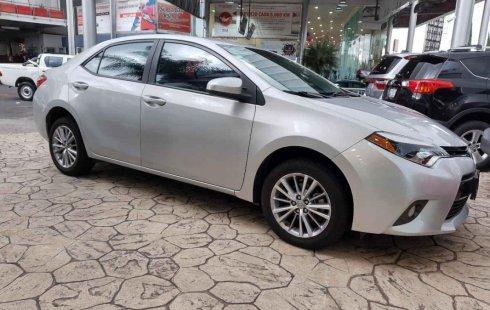 Toyota Corolla impecable en Puebla