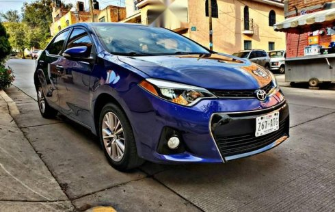 Tengo que vender mi querido Toyota Corolla 2014